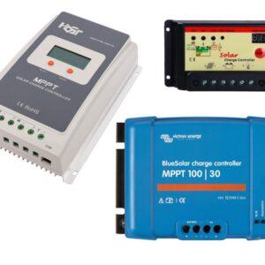 【 Reguladores solares 】 12v / 24v / PWM / MPPT