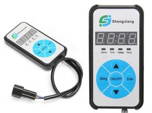 Mando de control digital LCD calefaccion estatica china