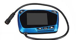 parking heater lcd mando azul futurista termostato calefaccion estacionaria estatica china