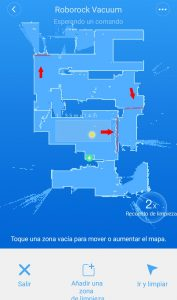 pared virtual software mi home xiaomi roborock s50 gratis