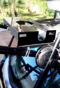 calefaccion estacionaria diesel portatil en portabicis 4x4 avance vaca coche techo