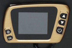 golden parking heater lcd pantalla dorado calefaccion estatica estacionaria china