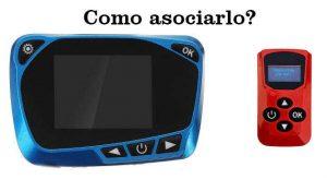 manual como asociar mando calefaccion estacionaria remote pairing mando rojo pantalla lcd azul