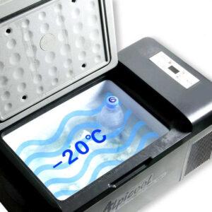 nevera compresor 12v camper alpicool fridge dc capacidad