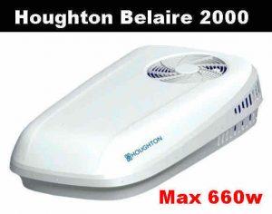 Aire acondicionado Belaire 2000 Houghton Belair 2000 600w 660w bajo consumo camper 12v 220v 230v camping autocaravana oferta bajo precio barato