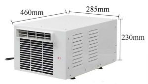 medidas Aire acondicionado mini pequeño compacto 1000w 800 frigorias 12v 220v bajo consumo caravana autocaravana camper