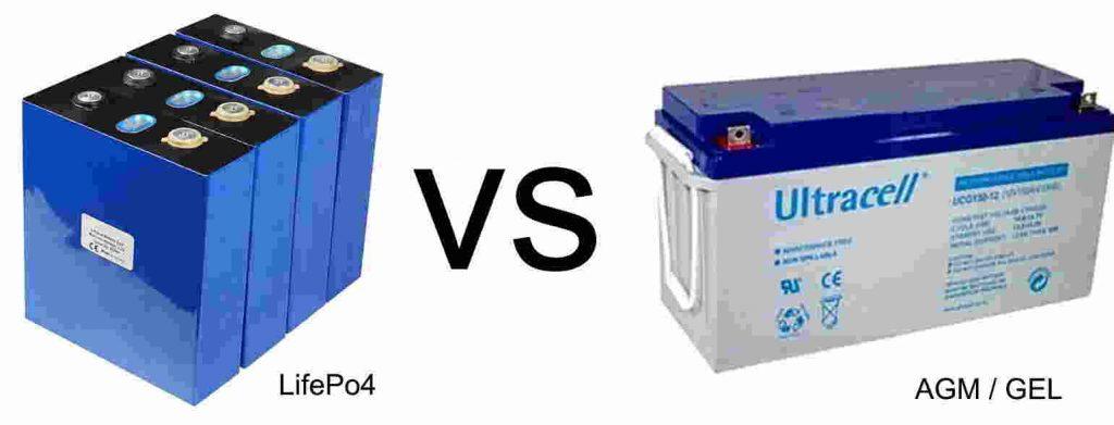 lifepo4 vs agm gel