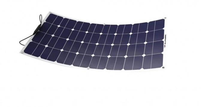 Panel solar ALLPOWERS 12V 18V 100W de SunPower celulas policristalinas